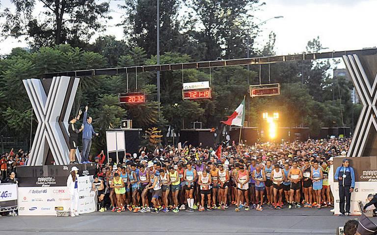 Todo listo para la edición XXXVII del Maratón de la Ciudad de México 2019