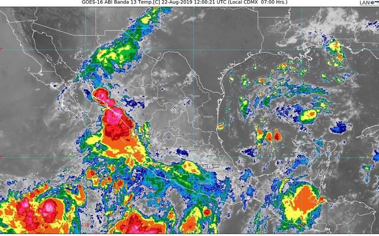"Mazatlán, en alerta por tormenta tropical ""Ivo"""