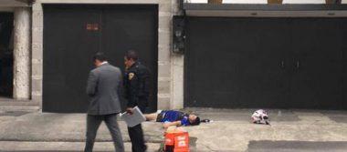 Matan a presunto delincuente disfrazado de repartidor de Rappi en Polanco
