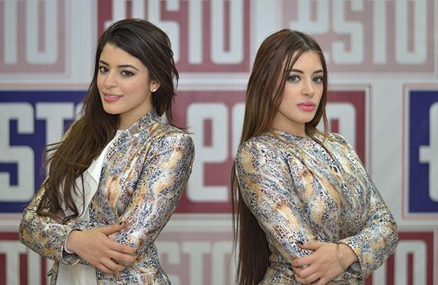 Marián y Mariel, impresionantes gemelas