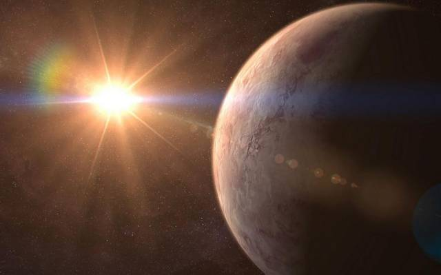 Hallan un planeta potencialmente habitable en un nuevo sistema solar