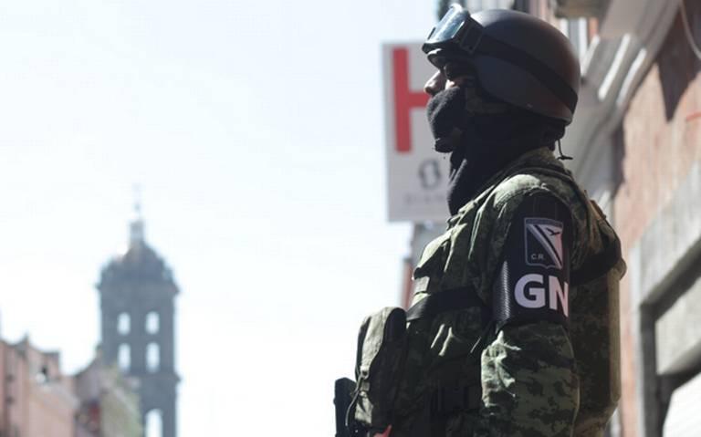 "Por ""efecto cucaracha"", los ataques a la Guardia Nacional"