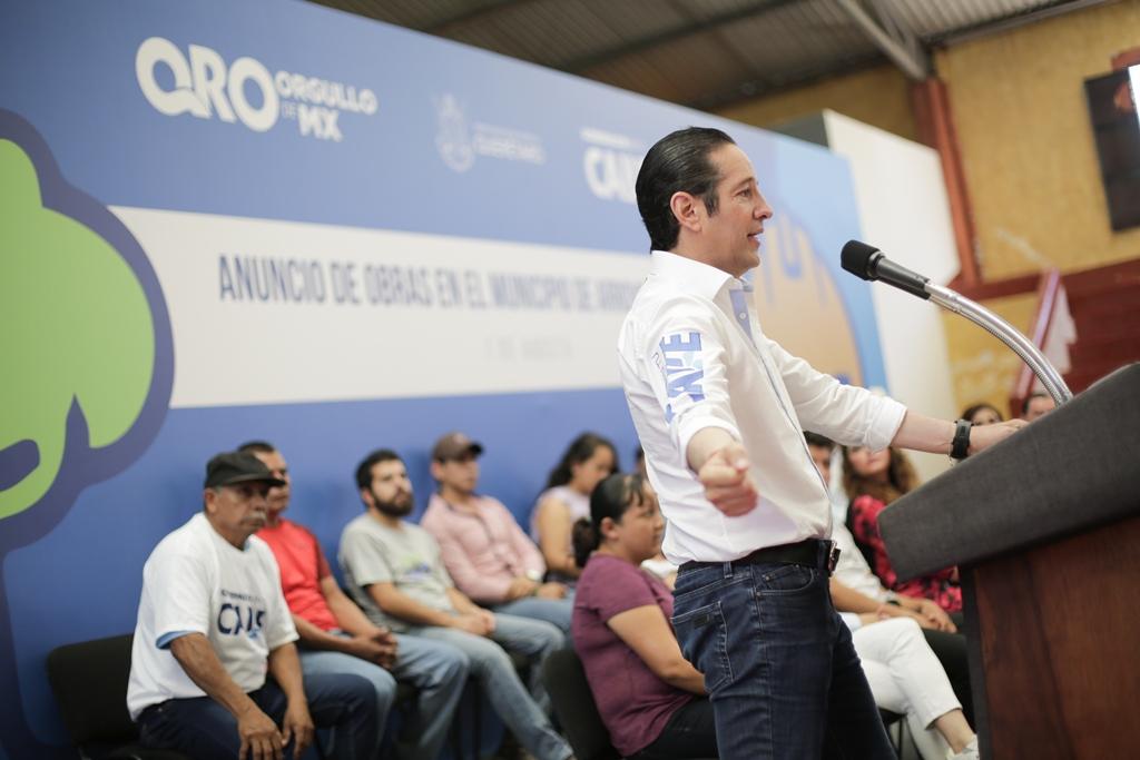 Anuncia el Gobernador inversión de 34 mdp para el municipio de Arroyo Seco