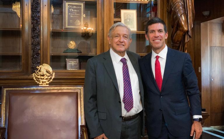 Presidente de Goldman Sachs confía en economía de México, dice AMLO