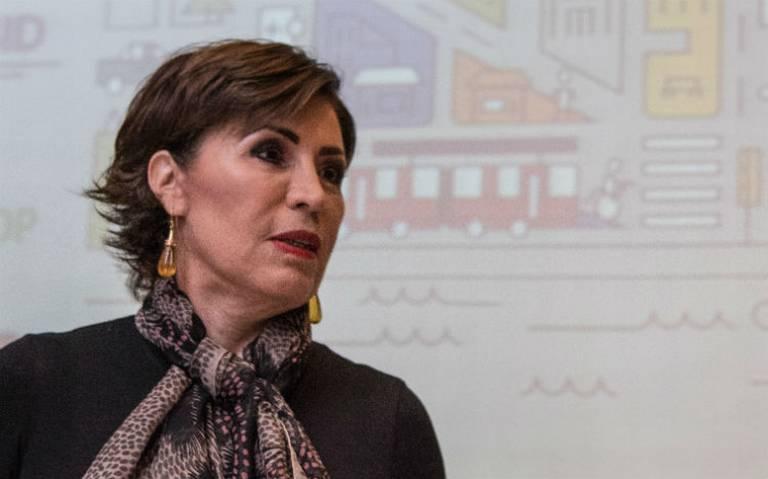 Niegan suspensión definitiva a Rosario Robles para evitar ser detenida