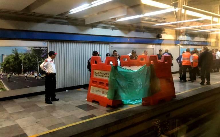Forcejeo le cuesta la vida a jefe de estación en Metro San Cosme