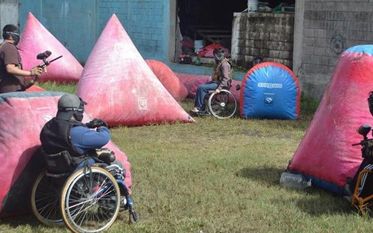 Los irreverentes de la discapacidad Rollings Fire