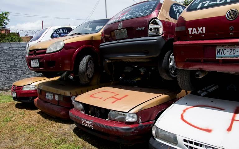 Apoyará Semovi a taxistas con 50 mil pesos para cambiar sus vehículos viejos