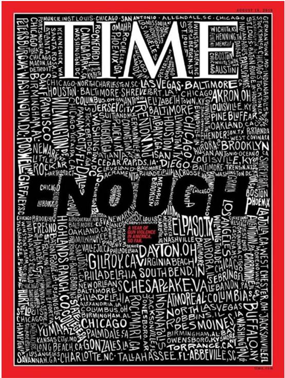 Con portada, Time exige el fin del terrorismo de los supremacistas blancos