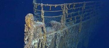 [Video] Así se ve el Titanic a 107 años de su hundimiento