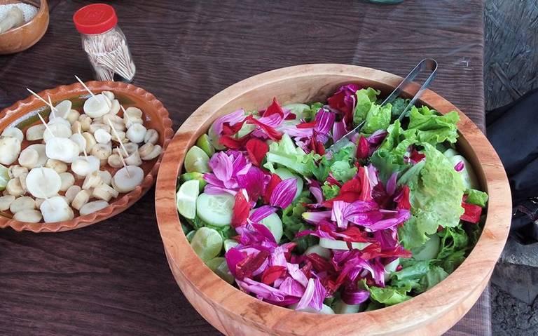 Flores mexicanas que se pueden comer