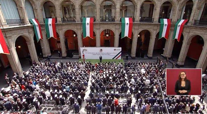PRIMER INFOME DE GOBIERNO DEL PRESIDENTE ANDRÉS  MANUEL LÓPEZ OBRADOR
