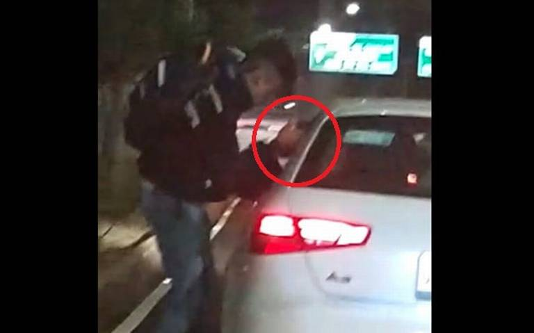 A mano armada asalta a automovilista en Periférico Sur