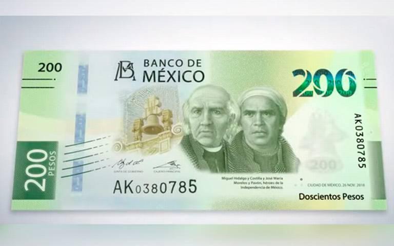 [Video] ¡Ya está aquí! Así luce el nuevo billete de 200 pesos