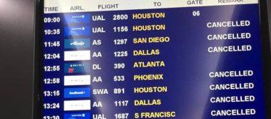 Se cancelan 46 vuelos en el aeropuerto de Los Cabos