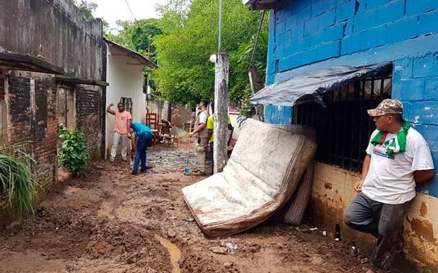 Activan plan DN-III tras intensas lluvias en Tapachula