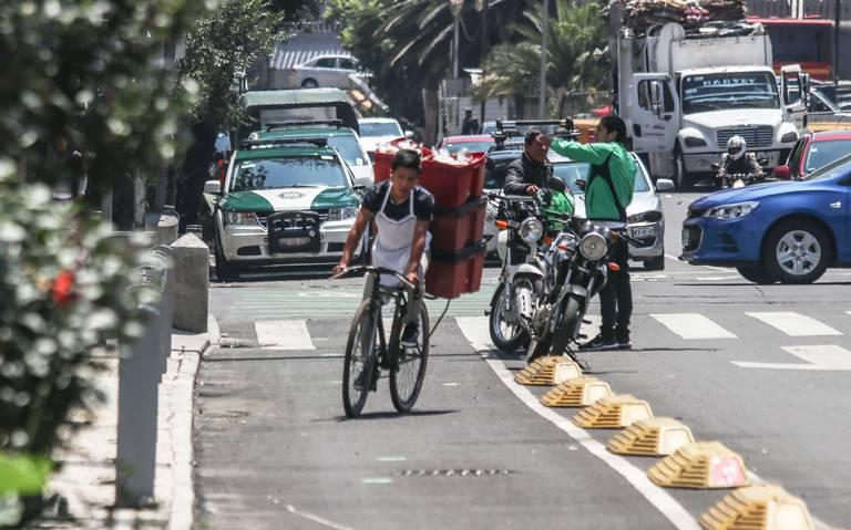 Bicis tendrán más carriles exclusivos en la CDMX
