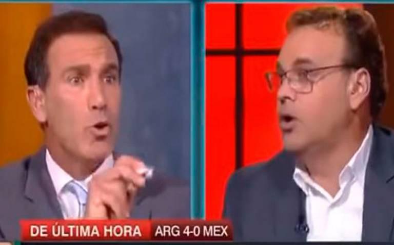 Faitelson se disculpa con los De Anda tras insultos en Futbol Caliente