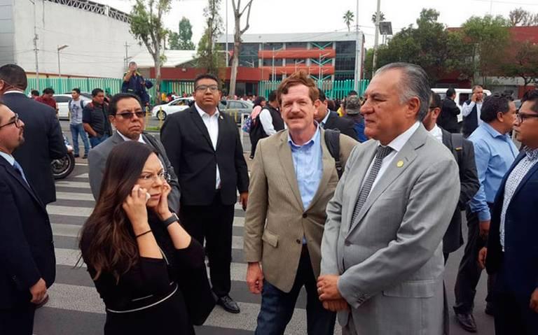 Anuncia CNTE que bloqueará San Lázaro hasta el próximo jueves