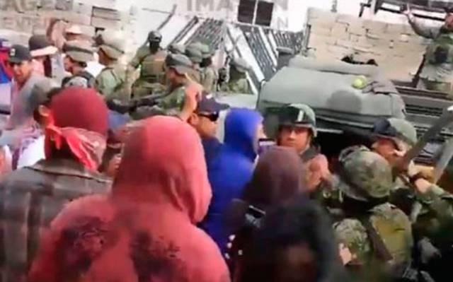 Suspenden clases en Acajete, Puebla, tras agresión al Ejército
