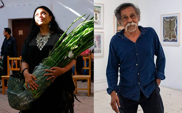 Homenajes a Francisco Toledo no serán suficientes para honrarlo: Alejandra Frausto