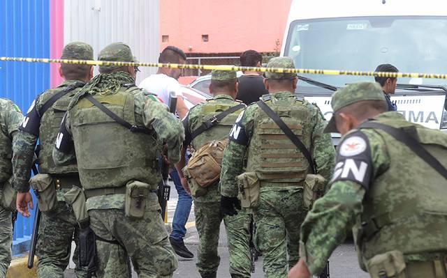 Guardia Nacional abate a El Peje, asaltó un camión de pasajeros en Iztapalapa