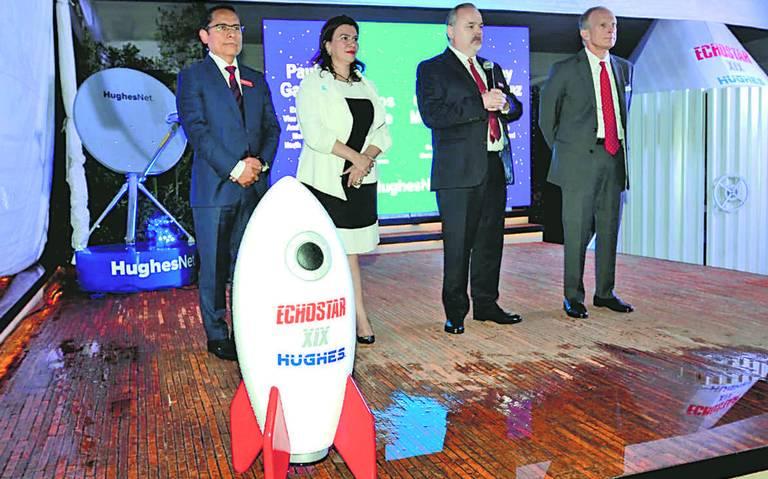 Hughes conectará a 95% del país con internet satelital
