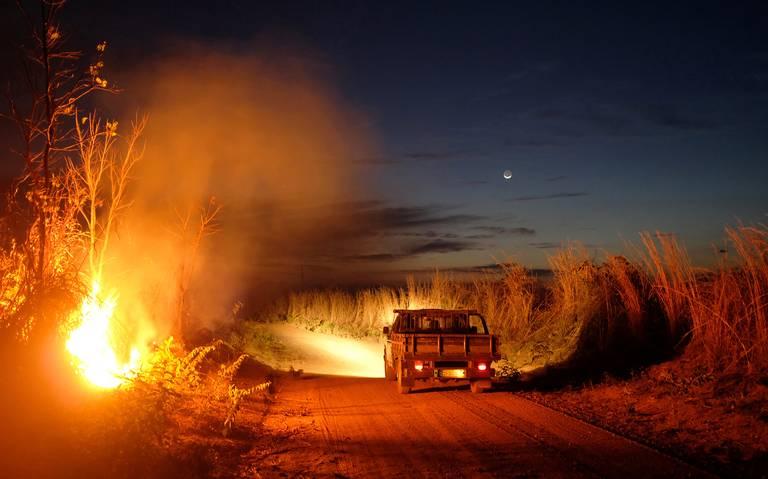 Incendios en la Amazonia se triplicaron en agosto