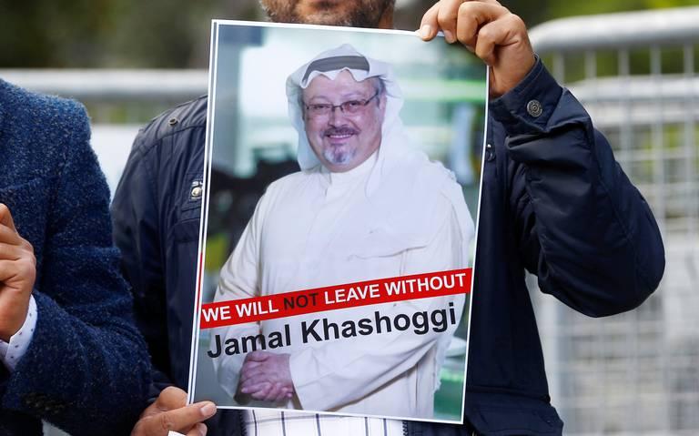 Salen a la luz últimas palabras del periodista Khashoggi