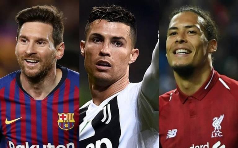 Cristiano, Messi y Van Dijk, finalistas al premio FIFA The Best