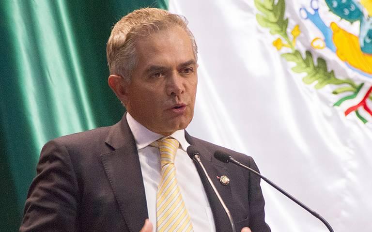 Mancera propone crear fondo de respuesta inmediata para desastres naturales