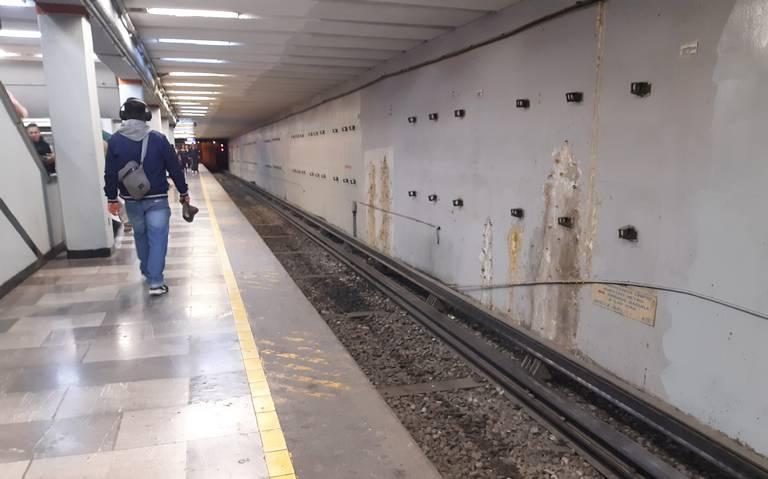 Línea 1 del Metro llega parchada a su 50 aniversario