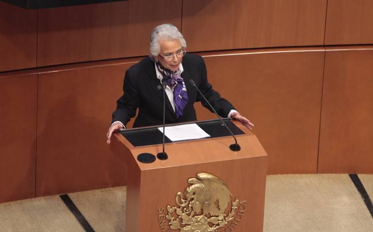 Prohibición a la reelección será absoluta: Olga Sánchez