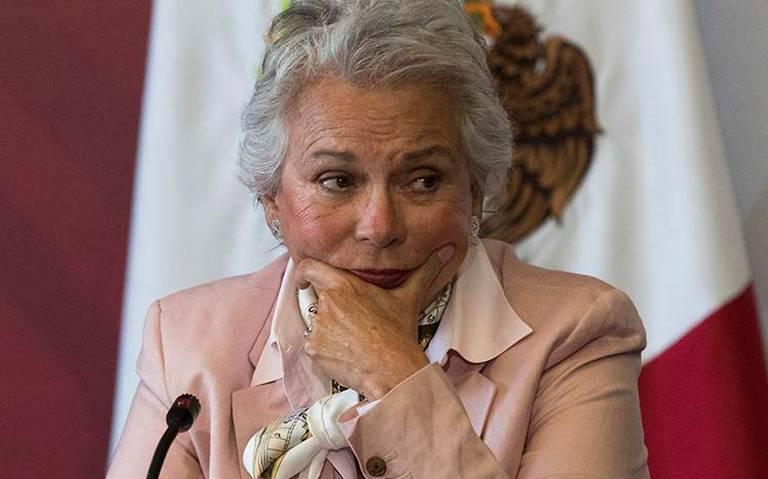 Olga Sánchez rechaza que violencia se esté desatando en el país