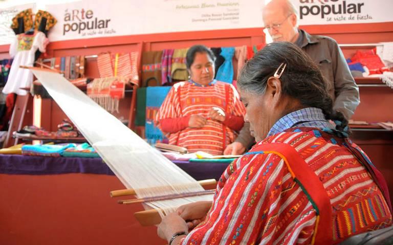 Comienza la décima muestra de rebozos en el Museo Nacional de las Culturas Populares