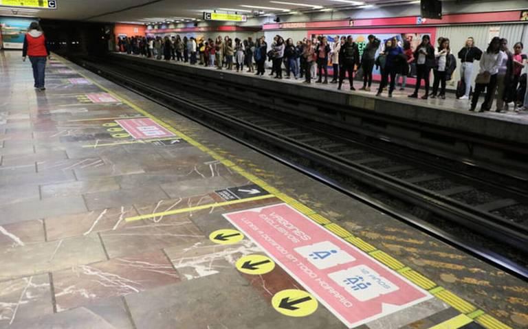 Sancionarán a hombres que no respeten vagones exclusivos para mujeres en Metro y Metrobús