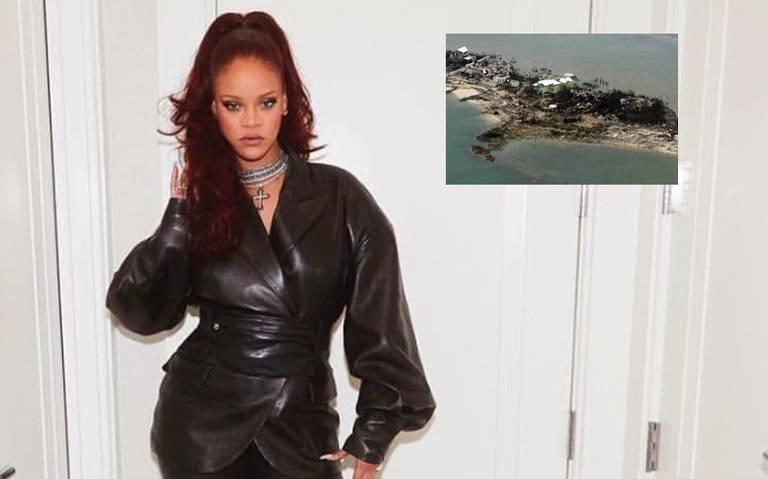 """""""Están en mis oraciones"""", Rihanna prestará ayuda a las Bahamas por paso de Dorian"""