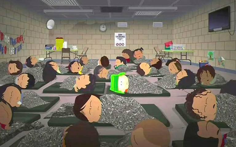 South Park parodia los centros de detención de migrantes
