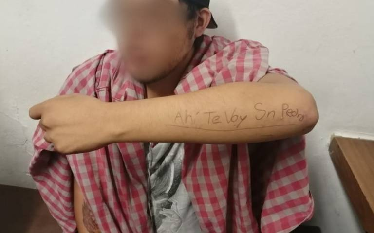 """""""Ahí te voy San Pedro"""" escribió para lanzarse a las vías del metro, lo salvan"""