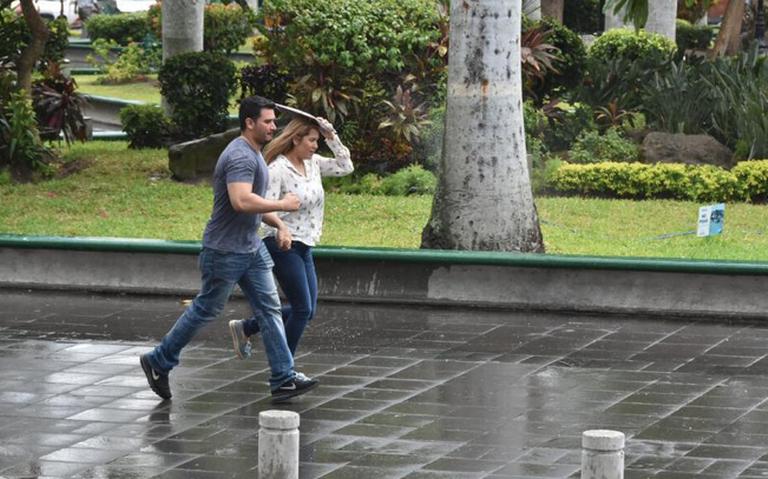 Potencial de precipitaciones y calor de hasta 35 grados predominará en Tampico y Madero