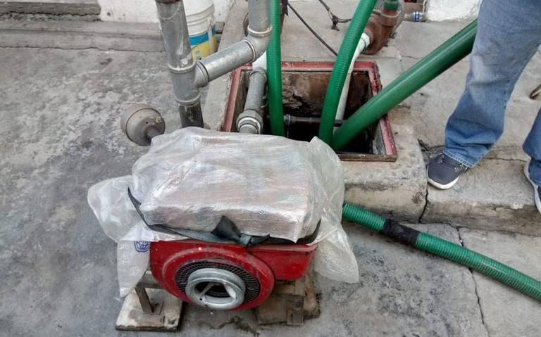 Descubren toma clandestina de agua en predio de Ecatepec