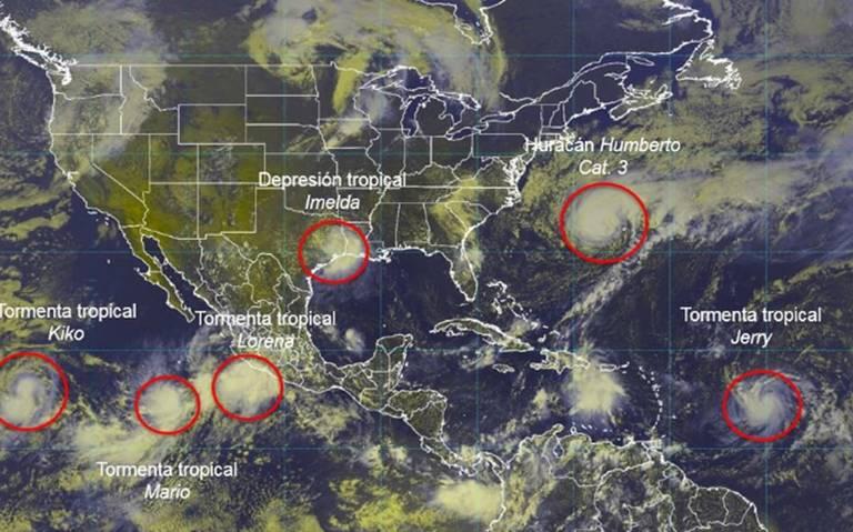 Prevén que Lorena se intensifique a huracán categoría 1