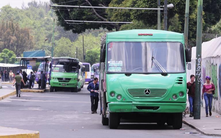 Las 16 rutas de transporte más peligrosas de la CDMX