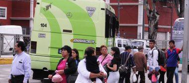 Usuarios ya no usan los microbuses por temor a un asalto