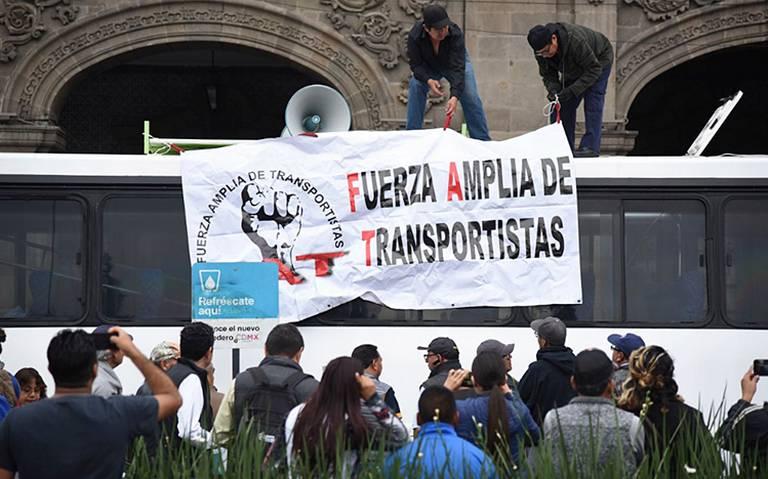 Lo que debes saber sobre la marcha de transportistas que ahorcará este martes a la CDMX