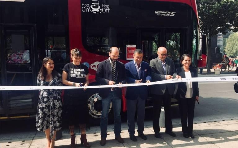 Arranca Turibus histórico en la CDMX