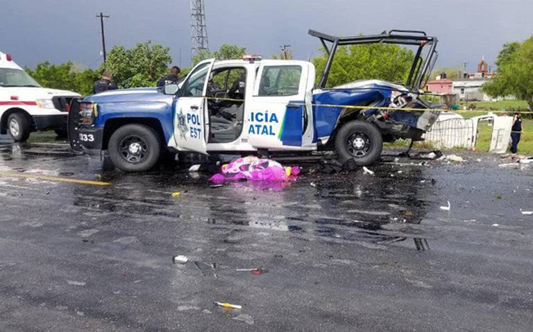 Aparatoso choque en Reynosa deja un muerto