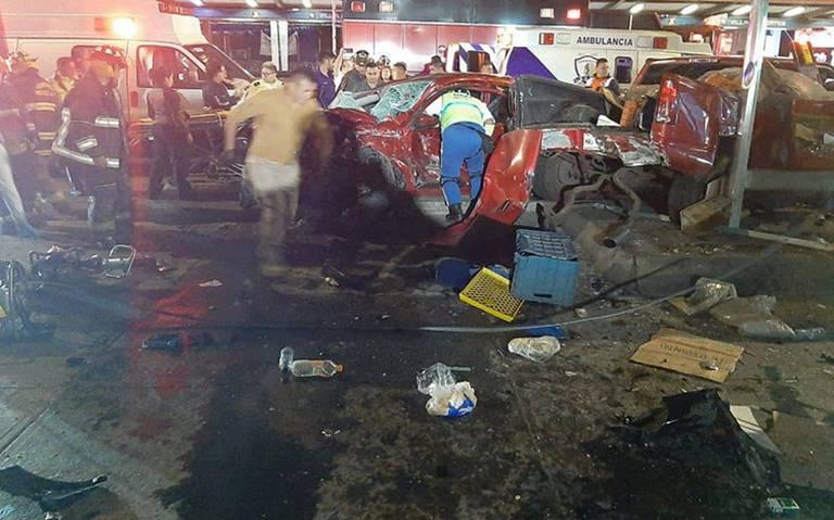 Fatal accidente en Tlalpan deja dos muertos y dos lesionados