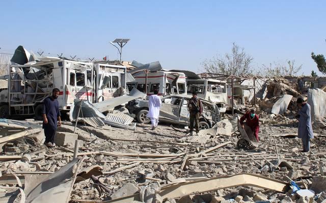 Ataque con drones en hospital de Afganistán deja al menos 29 muertos