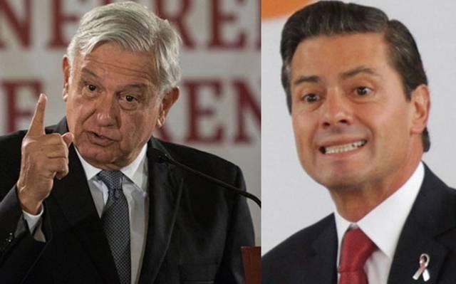 AMLO revela excesivos gastos de Peña Nieto en papel higiénico y gel